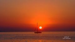 IMG_6515 Sunsets III (Cyberlens 40D) Tags: travel greece mykonos greekislands sunsets scenery silhouettes sightseeing europe destinations beauty boats horizon platinumheartaward