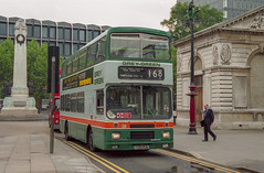 Grey-Green F120PHM Euston 26th May 1993 (BristolRE2007) Tags: bus greygreen london londonbus