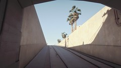 Railroad Tunnel | GTA V (Stellasin) Tags: angeles gaming game beauty beautiful buildings blur car cars city clouds downtown engine weather reflection people flare fog graphics gtav gta grass hot highway photography sky los mods mountains motion road trees screenshot sun sunrise v water