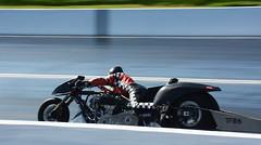 Rocket 3 _8621 (Fast an' Bulbous) Tags: drag race bike track biker motorcycle fast speed power acceleration santa pod nikon
