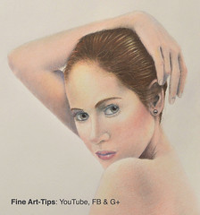 How to Draw Realistic Flesh With Color Pencils - Narrated (fineart-tips) Tags: drawing art finearttips woman portrait hair skin tutorial artistleonardo leonardopereznieto patreon colors tutto3