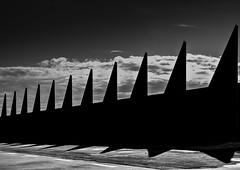 triangles (robertoburchi1) Tags: blackwhite bianco e nero triangles geometry forms shadows light silhouette