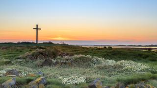 St Cuthberts sunset.