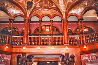 St Augustine  Florida - Ponce de Leon Hotel - Flagler College -  Lobby Area