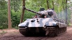 Sd.Kfz. 182 Königstiger (Peter Beljaards) Tags: sdkfz182 königstiger overloon henschelson german tank maybach ww2 panzer secondworldwar wehrmacht