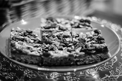 Caramel Heaven (B&W) (142/365) (Capturing The Negative) Tags: cake baking nineleaves hoylake wirral homemade canon canon650d cafe blackandwhite bnw bw fltofb