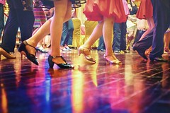 tripping the light fantastic (-liyen-) Tags: lights floor colorful dancing feet party fun fujixt2 indoor dance matchpointwinner t631