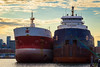 Spruceglen & Algosoo (A Great Capture) Tags: docked toronto ship ships lakeontario shipping greatlakes agreatcapture agc wwwagreatcapturecom adjm ash2276 ashleylduffus ald mobilejay jamesmitchell on ontario canada canadian photographer northamerica torontoexplore spring springtime printemps freight 2016