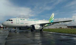 G-DBCI A319 Lanmei Airlines