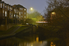 The Walsall Canal, Walsall 20/01/2018 (Gary S. Crutchley) Tags: canal wharf town arm uk great britain england united kingdom urban townscape walsall walsallflickr walsallweb black country blackcountry staffordshire staffs west midlands westmidlands nikon d800 history heritage local night shot nightshot nightphoto nightphotograph image nightimage nightscape time after dark long exposure evening travel street slow shutter raw navigation cut inland waterway bcn narrowboat lock junction wyrley and essington canalscape scape