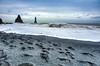 Sea Stacks (RoamingTogether) Tags: atlanticocean europe hdr iceland nikon nikon20mm28 nikond700 ocean reynisfjara