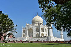 Taj Mahal, Agra, India (blogger_of_india) Tags: india indianblogger agra tajmahal wonder blogger photographer wonderofworld 7wonderofworld taj