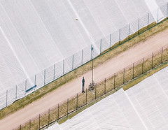 (miemo) Tags: dji mavic mavicpro abstract aerial bike city covered drone europe field finland helsinki käpylä plastic shadow spring topdown uusimaa fi