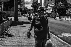 Catwalk (aliwton) Tags: ifttt 500px street pedestrian sidewalk pavement urban black white monochrome noir leica hybrid film digital silver gelatin people candid man walk hat style recife pernambuco brazil brasil latin america south