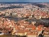 Prague landscape from Petrin Tower, Czech Republic (yuyugreen) Tags: チェコ プラハ 街 首都 風景 展望 川 czech prague city capital landscape river view