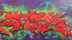 Sage... (colourourcity) Tags: streetart streetartaustralia streetartnow graffitimelbourne graffiti melbourne burncity colourourcity awesome nofilters original unionheights sage msa fly flies red east9thbrewing