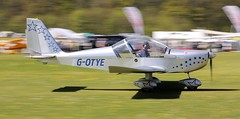 Evektor EV-97 EuroStar G-OTYE 5th May Popham Microlight Trade Fair 2018 (SupaSmokey) Tags: evektor ev97 eurostar gotye 5th may popham microlight trade fair 2018
