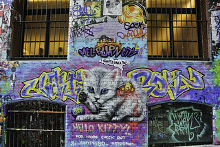 Street Art in Melbourne (1)