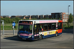 Stagecoach 37058 (Jason 87030) Tags: 15 stcrispin| stgiles park roundabout pink view shot bus enviro e200 branded branding 37058 yy63yrc kentroadsouth estate northampton route service northants wheels sony alpha northamptonshire ilce a6000 lens tag may 2018 weather sunny buses vehicle town
