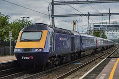 43018, Didcot Parkway (JH Stokes) Tags: 43018 didcotparkway diesellocomotives powercar class43 hst highspeedtrain greatwesternrailway gwr trains trainspotting tracks transport railways locomotives photography photoshop