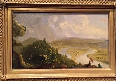 1-13 Thomas Cole at the Met (MsSusanB) Tags: cole oxbow thomascole metropoltanmuseum metmuseum painting art exhibition nyc newyork hudsonriverschool landscape