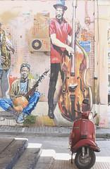 Street art - Greece (Chapo78) Tags: graf graffiti street tags city greece athenes athens scooter
