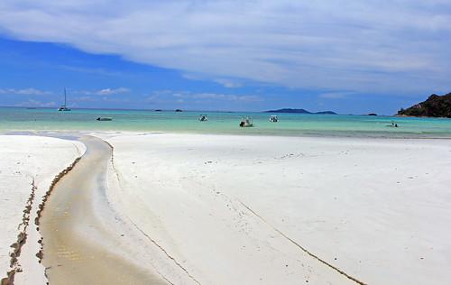 Agua a la playa
