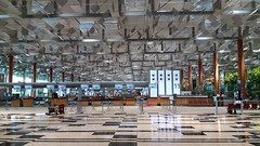 Singapore Changi Airport, Terminal 3 (SunnyGo) Tags: singapore changi airport flying flight building trees nature airplane vacation holiday international