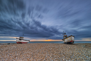 Sunrise at Dungeness, Kent