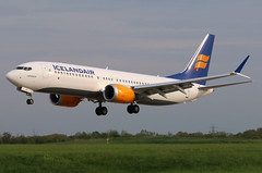 TF-ICY ICELANDAIR 737-8MAX at KCLE (GeorgeM757) Tags: tficy 7378max 737 icelandair kcle clevelandhopkins georgem757 aircraft alltypesoftransport aviation airport boeing 6l canon70d