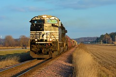 Back On Track! (Ryan Distad) Tags: ns norfolk southern railroad cp canadian pacific dme wasecasub minnesota train fall