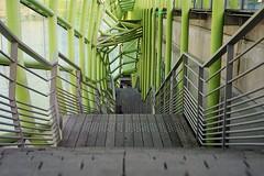 DSC01555 (2) (Kevin cotucheau) Tags: flickr art photo street green escalier paris seine hauteur