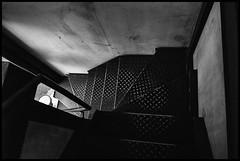 Jingūmae, Shibuya-ku, Tōkyō-to (GioMagPhotographer) Tags: tōkyōto building japonica shibuyaku jingumae stairs leicamonochrom japanproject japan detail tokyo tkyto