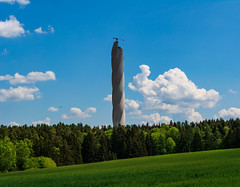 The Drill Bit (Brian Out and About) Tags: nikon d5200 ©brianblair2018 rottweil germany europe handheld towers travel landscapes spring explore testturm testtower elevator