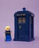Thirteen's TARDIS (| Nouvilas ⟩) Tags: lego minifig doctor who dw tardis thierteen