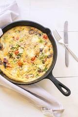 Tomato-feta-frittata-4 (thetortillachannel) Tags: recipe cooking lunch breakfast tomato frittata savory tasty delicious food eggs