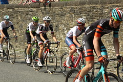 Chasing Group (Steve Dawson.) Tags: tourdeyorkshire mens cycle race bikes tdy uci teams lycra sport chasers chasinggroup stage4 halifaxtoleeds hill skipton yorkshire england uk canoneos50d canon eos 50d ef28135mmf3556isusm ef28135mm f3556 is usm
