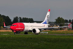 EI-FYB Boeing 737 Max-8 Norwegian (eigjb) Tags: shannon airport einn ireland international clare rineanna jet airliner boeing airplane aeroplane aircraft plane spotting aviation 2018 transport eifyb b737 737 7378 max norwegian b38m max8 air tom crean