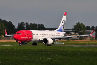 EI-FYB Boeing 737 Max-8 Norwegian