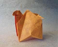Dromedary (mrmicawer) Tags: papiroflexia origami papel camello camel dromedario dromedary desert