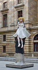 Pinned Up Marylin (katerina_friheten) Tags: statue sculpture prague art figure