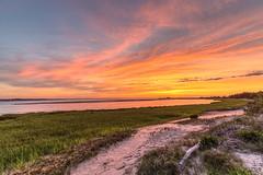 Golden Sky (aka Buddy) Tags: 2018 spring sunset sandy hook highlands nj og hdr