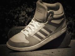 Sneakers (marceberhardt1) Tags: schuhe sneaker sport wear bw monochrom schwarz weis