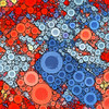 Bubblicious XVII (Ross Studio) Tags: blue red orange circles bubbles background abstract design backdrop artistic wallpaper decoration texture pattern art decorative color illustration colorful contemporary paint grunge wave swirl messy grungy graphic anthonyross publicdomain abstractart abstractdesign backgrounds backdrops bright digitalillustration energy ethereal geometric sphere vibrant vivid wild