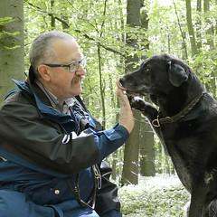 Ja Kaya, wir machen mal Urlaubspause (ottimaks) Tags: hunde