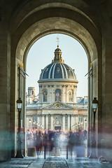 L'institut de France (Julien CHARLES photography) Tags: europe france nd1000 paris bridge filter filtre institutdefrance longexposure nd ndfilter pont pontdesarts poselongue