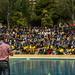 Renovació de les promeses del baptisme a l'Aplec de l'Esperit '18