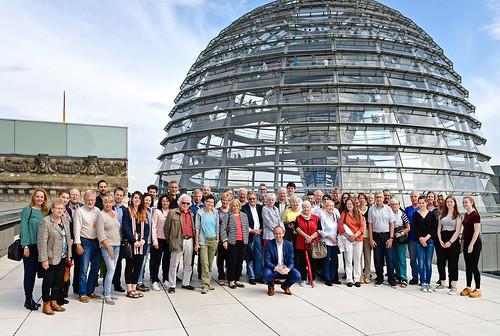 In Berlin habe ich eine Besuchergruppe aus dem Wahlkreis begrüßen dürfen. Foto: Bundesregierung / Atelier Schneider.