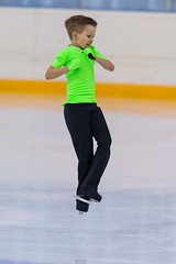 Minsk, Belarus –April 22, 2018: Male Figure Skater from Belarus Prohor Prusakov Performs Cubs A Boys Free Skating Program at Minsk Arena Cup 2018 in April 22, 2018, in Minsk (DmitryMorgan) Tags: 1 2018 april22nd belarus minskarenacup prohorprusakov artistic athlete axel boy championship chasse competition crossover editorial figureskating ice iceskate iceskating international jump lady loop lutz male mohawk one perform pirouette salchow skates skating solo spin spiral sport toeloopjump turn twist twizzle young