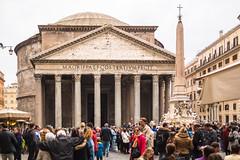 Pantheon, Rome (Fliwatuet) Tags: em5 italia italien italy mft olympusomd ostern rom roma rome it lazio